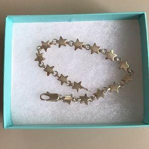Tiffany & Co. Linked Star Bracelet, Vintage